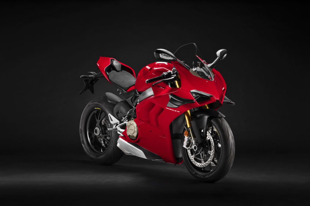 A 2021 Ducati Panigale V4 S. Photo courtesy Ducati.