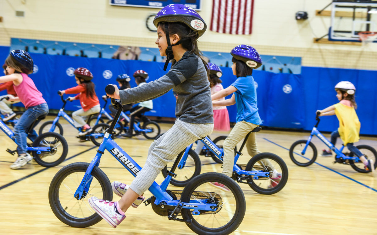 All Kids Bike® is a national program on a mission to teach every child in America how to ride a bike. Photo courtesy All Kids Bike.