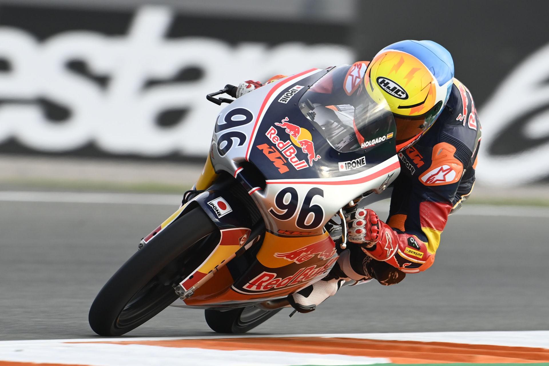 Daniel Holgado (96). Photo courtesy Red Bull.
