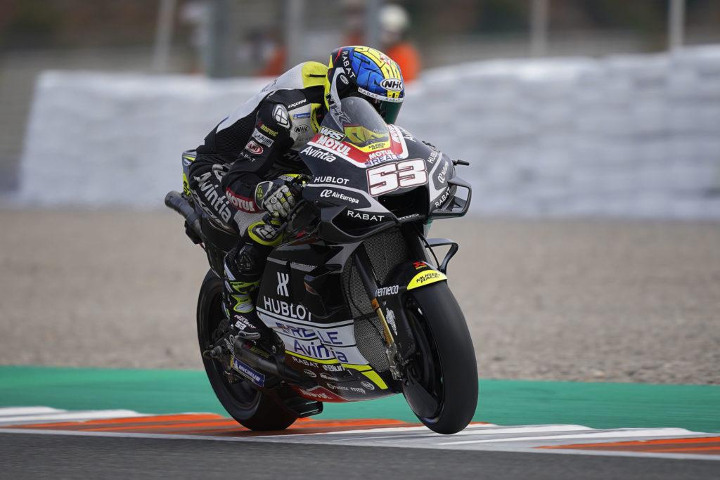 Tito Rabat (53). Photo courtesy Esponsorama Racing.
