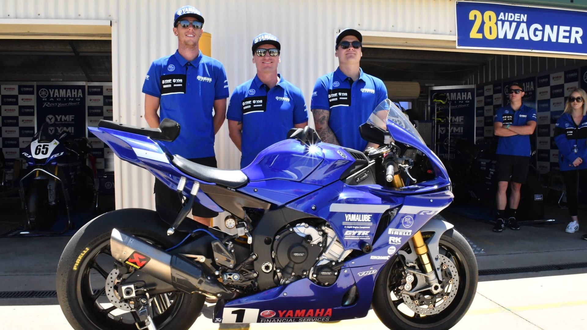 (From left) Cru Halliday, Broc Parkes and Aiden Wagner. Photo courtesy ASBK.