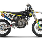 A 2021 Husqvarna FC 450 Rockstar Edition. Photo courtesy Husqvarna Motorcycles.