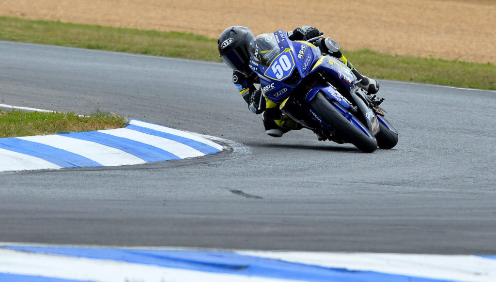 Carter Thompson (50). Photo by Russell Colvin, courtesy Motorcycling Australia.