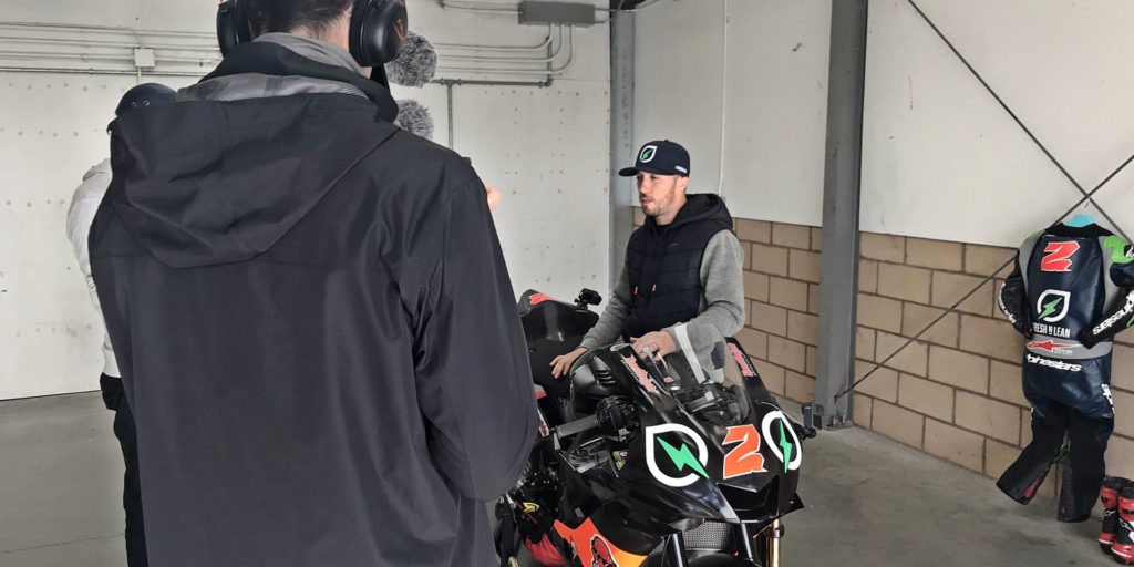 Former AMA Superbike Champion Josh Herrin was at Buttonwillow Raceway Park on Monday to attempt to set a world speed record for elbow-dragging. In an interview with Roadracing World, Herrin discussed the attempt, his 2020 results, his plans for 2021, and his advice for Cameron Beaubier as the reigning MotoAmerica Superbike Champion heads for Moto2. Photo by Michael Gougis.