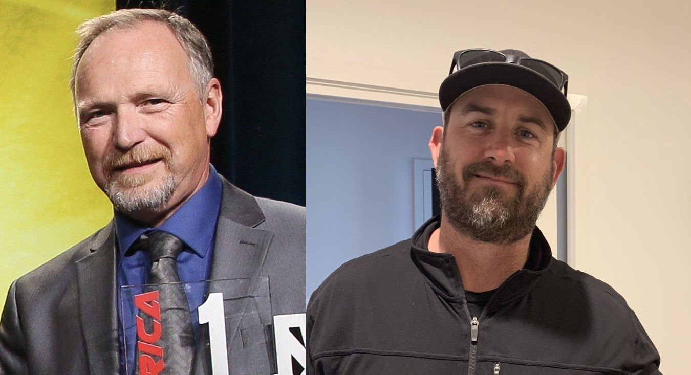 Rick Hobbs (left) and Tige Daane (right) have been hired by MotoAmerica as its new Race Director and Technical Director, respectively. Photos courtesy MotoAmerica.
