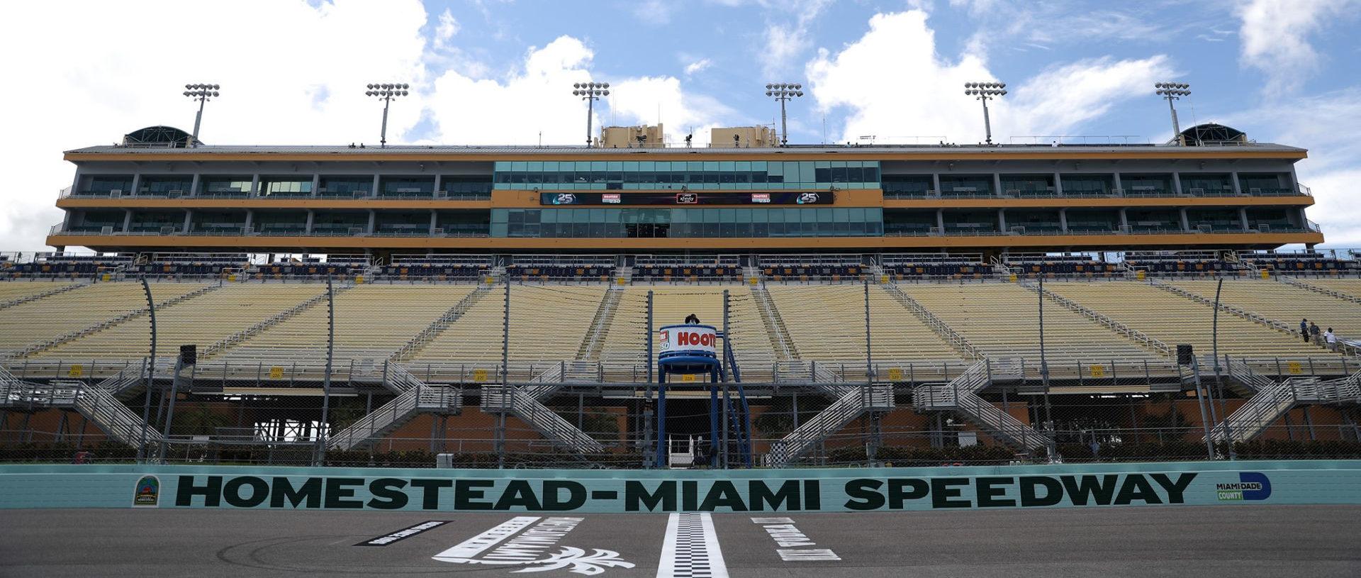 Homestead-Miami Speedway. Photo courtesy Homestead-Miami Speedway.