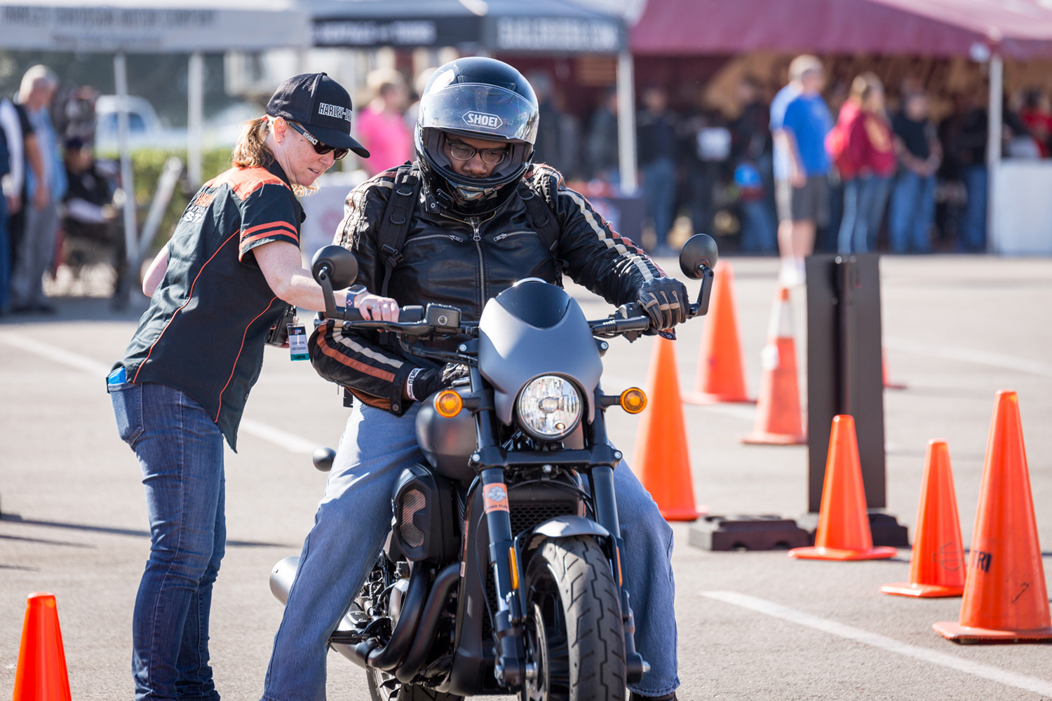 Streetbike demo rides will be part of the IMS Outdoors shows. Photo courtesy IMS Outdoors.