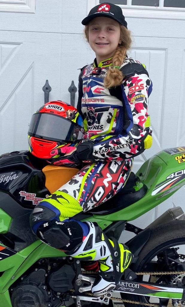 Kayla Yaakov. Photo by BARTCON Racing.