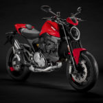 A 2021-model Ducati Monster Plus. Photo courtesy Ducati.