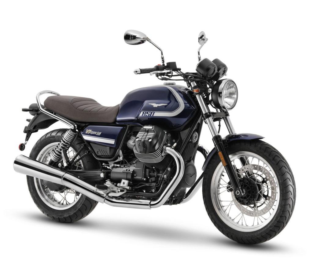 A 2021-model Moto Guzzi V7 Special. Photo courtesy Piaggio Group.