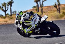 WERA West A Superbike Expert Champion Sahar Zvik. Photo by Michael Gougis.