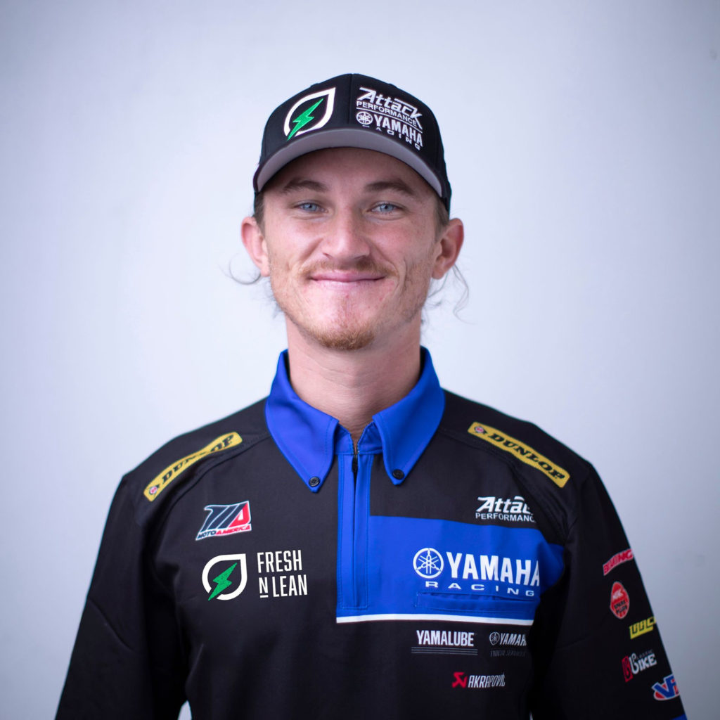 Jake Gagne. Photo courtesy Yamaha Motor Corp., U.S.A.