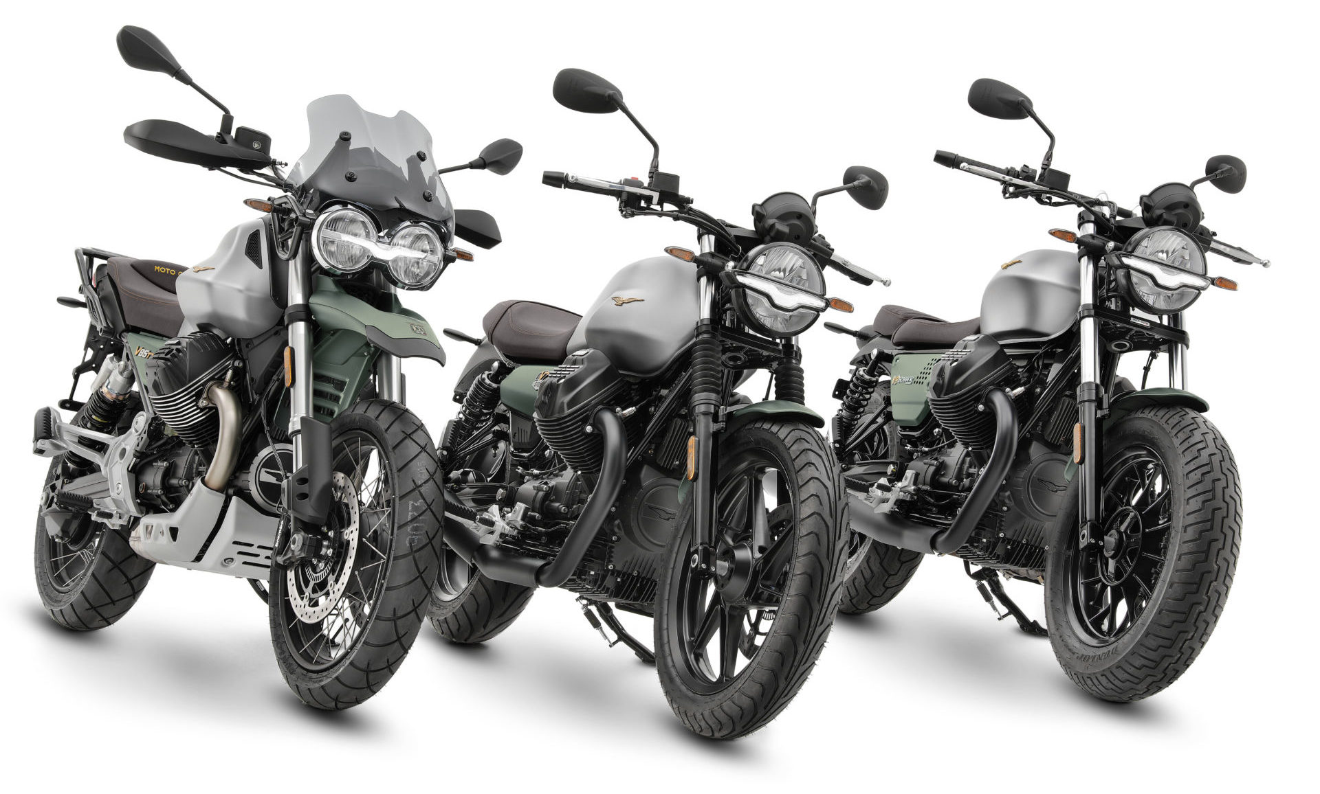 To celebrate its 100th anniversary, Moto Guzzi is producing selected 2021 models in a