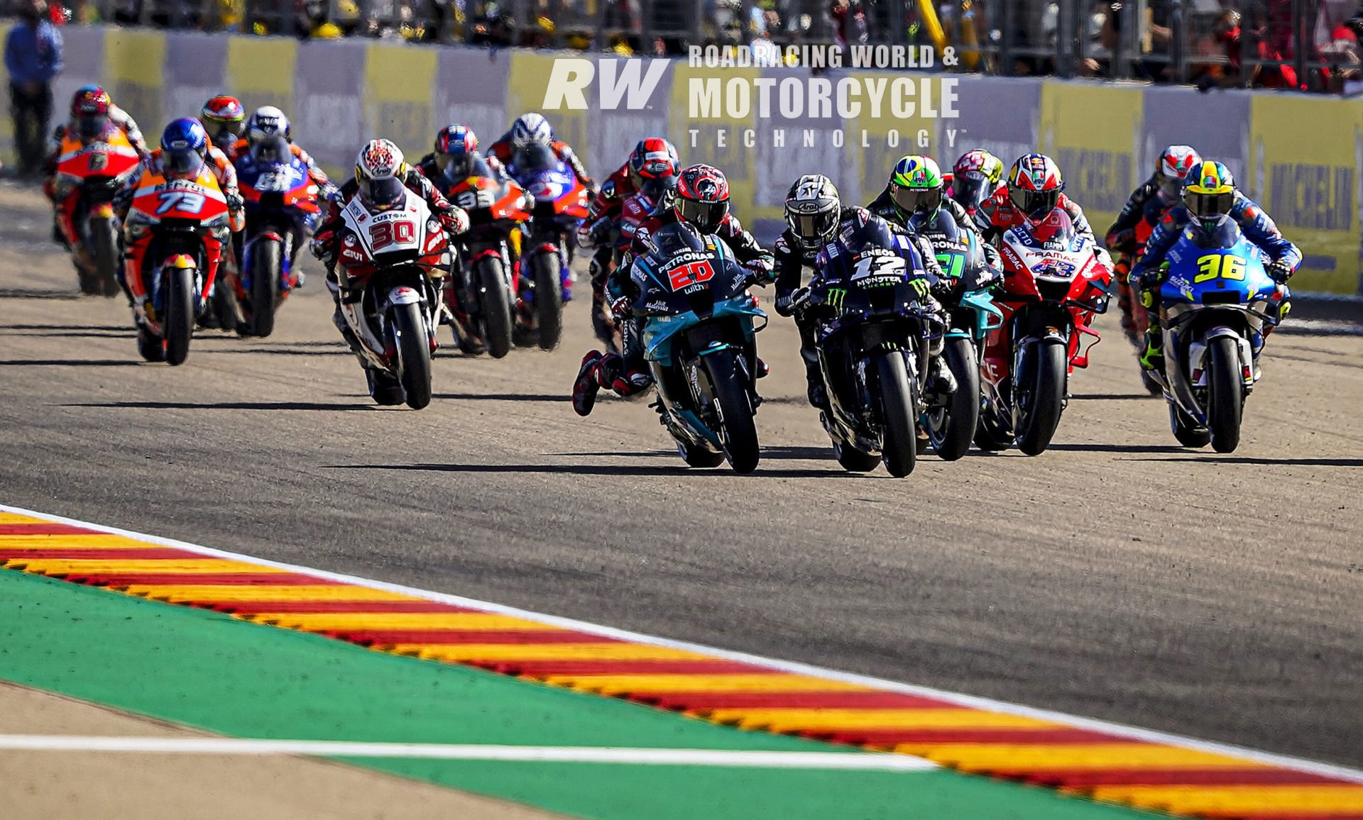 MotoGP: World Championship Heading To MotorLand Aragon - RoadracingWorld.com