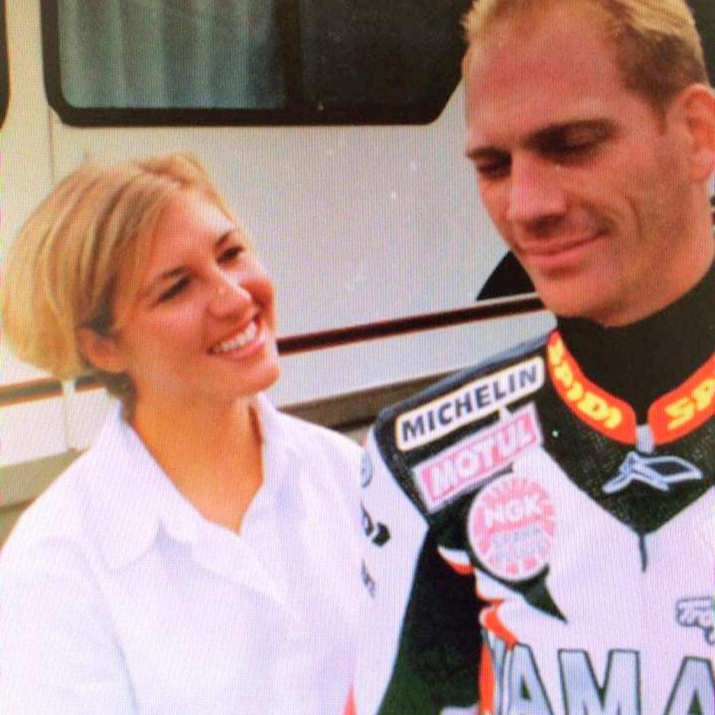 Ericha Schmidt and Scott Russell, as seen in 1998. Photo courtesy Scott Russell.