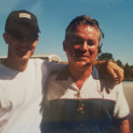 Charles Brothers (right) with two-time Superbike World Champion and former CMRA racer Colin Edwards (left), circa 2000. Photo courtesy Aimee (Brothers) Bemisderfer.