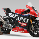The Team Yoshimura SERT Motul Suzuki GSX-R1000 endurance racebike. Photo courtesy Team Suzuki Press Office.