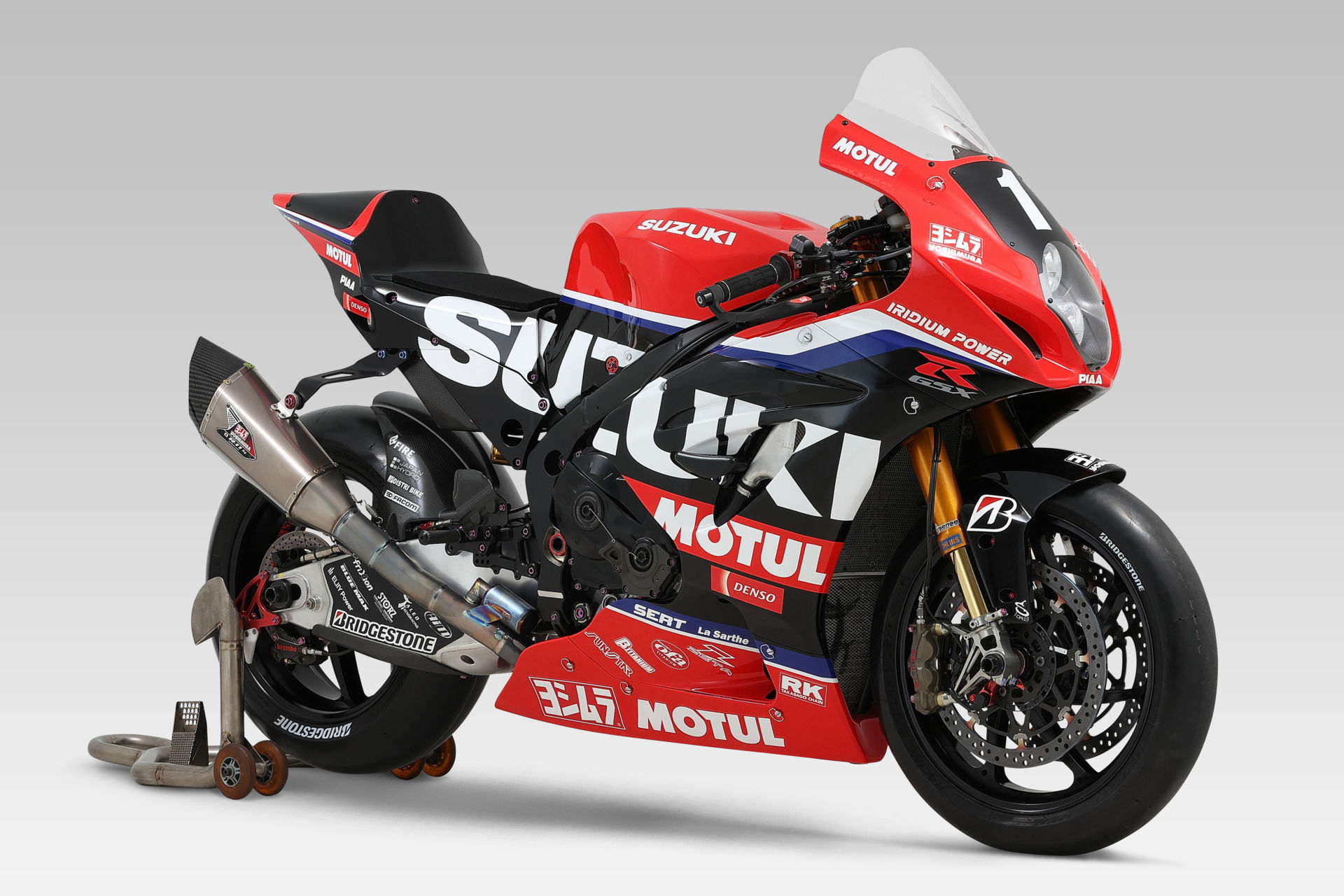 The Team Yoshimura SERT Motul Suzuki GSX-R1000 endurance racebike. Photo courtesy Team Suzuki Press Office.