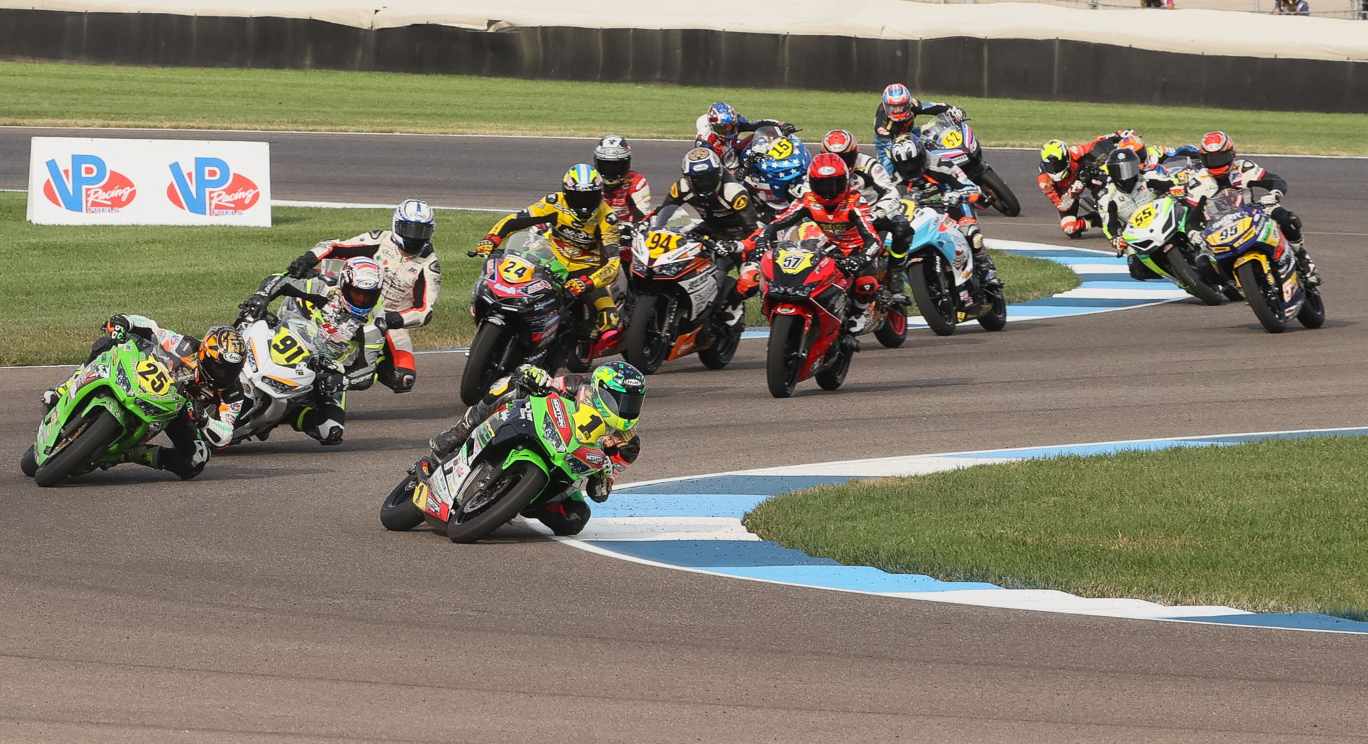SportbikeTrackGear.com will be the title sponsor of the MotoAmerica Junior Cup in 2021. Photo by Brian J. Nelson.