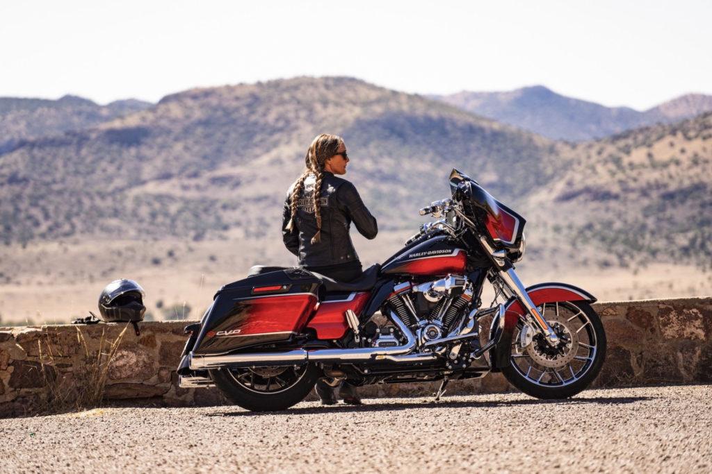 A 2021 Harley-Davidson CVO Street Glide. Photo courtesy Harley-Davidson.