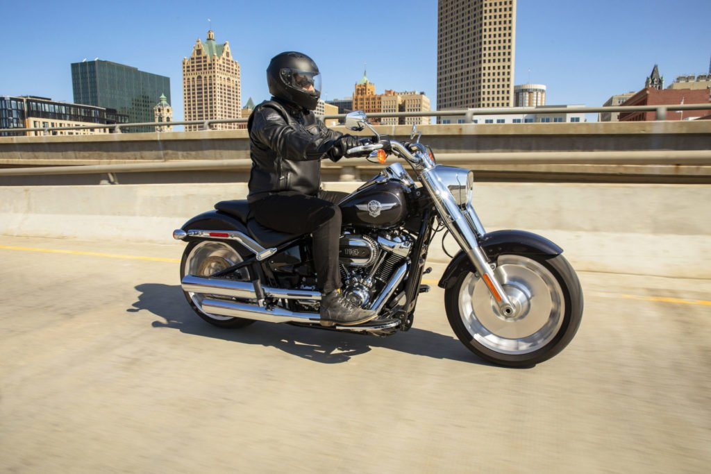 A 2021 Harley-Davidson Fat Boy 114. Photo courtesy Harley-Davidson.