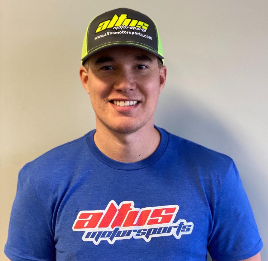 Jake Lewis. Photo courtesy Altus Motorsports.
