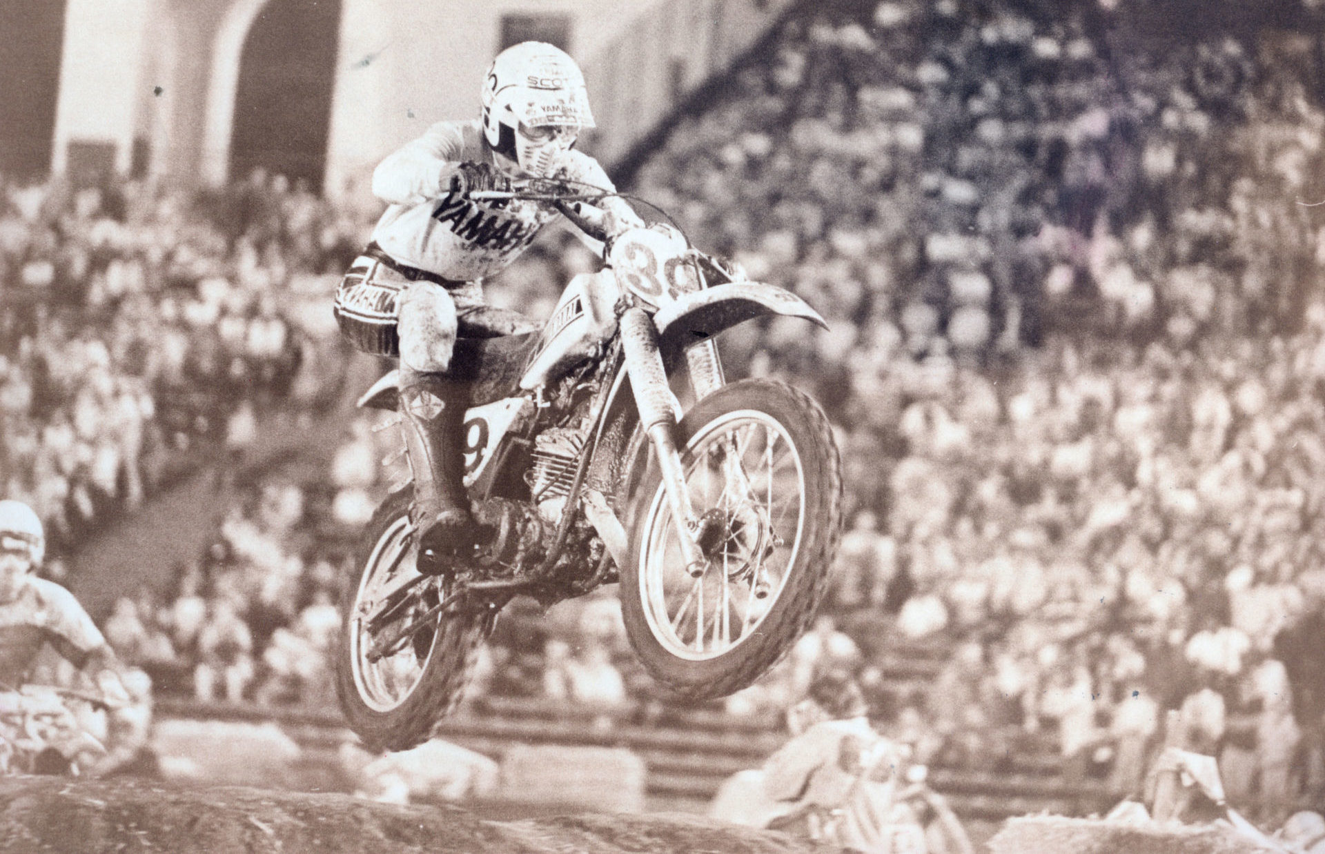 Mike Bell (39), R.I.P. Photo courtesy AMA Motorcycle Hall of Fame.