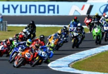 The Australian Superbike Championship is heading to Tasmania in 2021. Photo by Russell Colvin, courtesy ASBK.