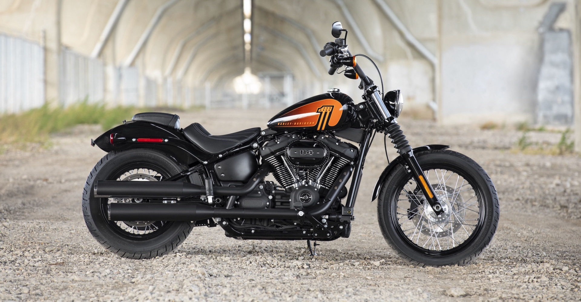 A 2021 Harley-Davidson Street Bob 114. Photo courtesy Harley-Davidson.
