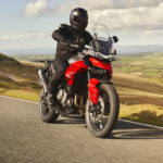 A Triumph Tiger 850 Sport at speed. Photo courtesy Triumph.