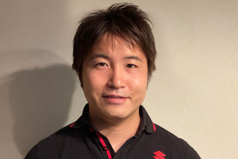 Kazuki Watanabe. Photo courtesy Team Suzuki Press Office.