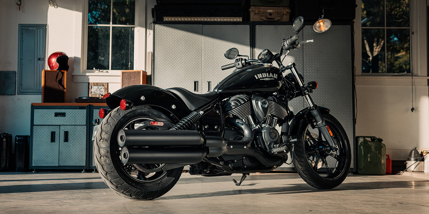 A 2022 Indian Chief. Photo courtesy Indian Motorcycle.