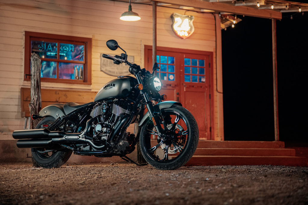 A 2022 Indian Chief Dark Horse. Photo courtesy Indian Motorcycle.