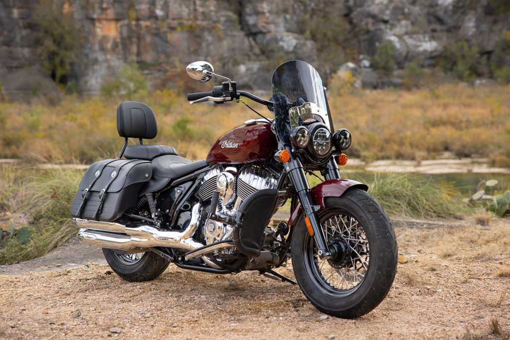 A 2022 Indian Super Chief Limited. Photo courtesy Indian Motorcycle.