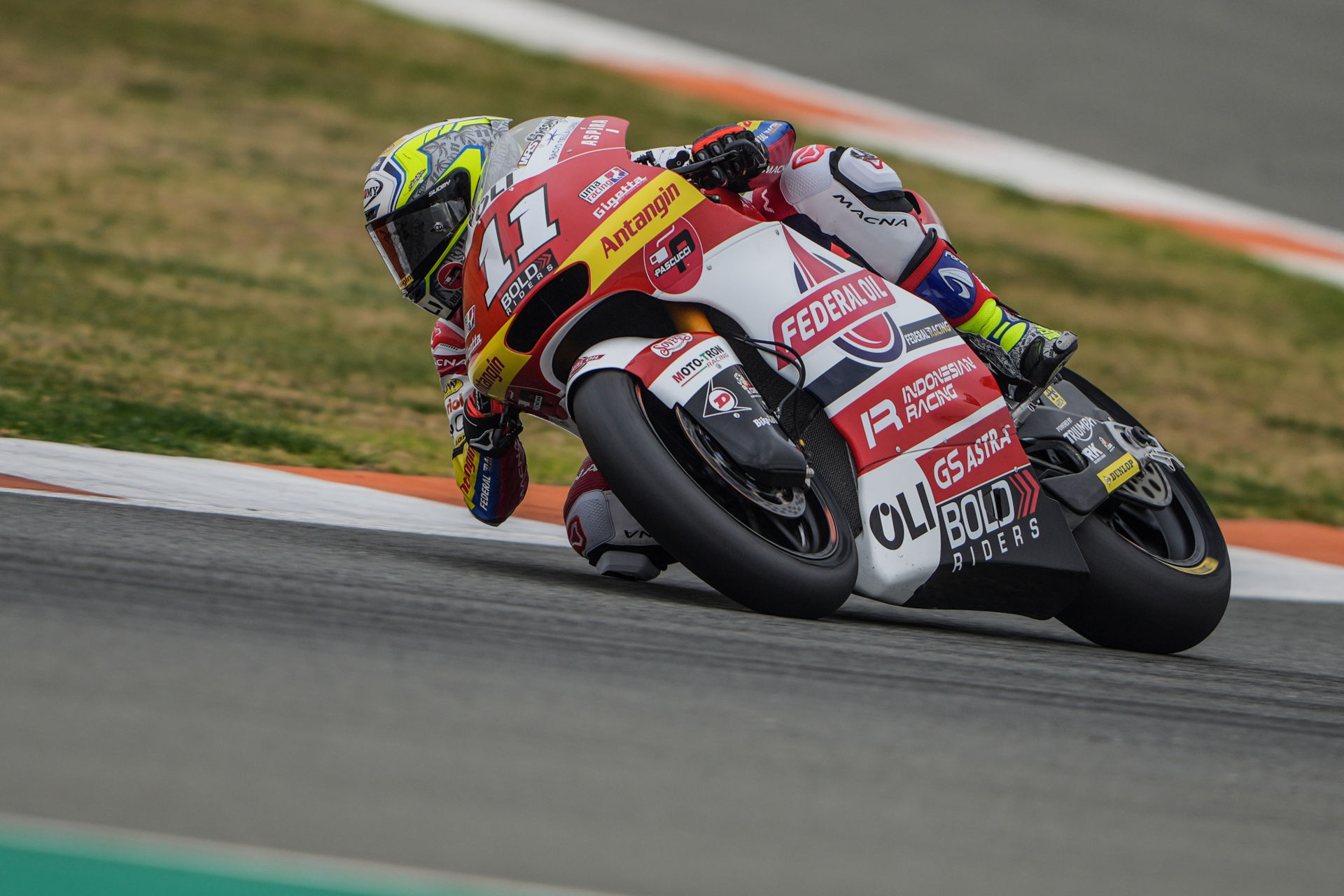 Moto2: Federal Oil Gresini Team Tests At Valencia