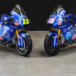 The Italtrans Racing Moto2 racebikes of Lorenzo Dalla Porta (19) and Joe Roberts (16). Photo courtesy Italtrans Racing.