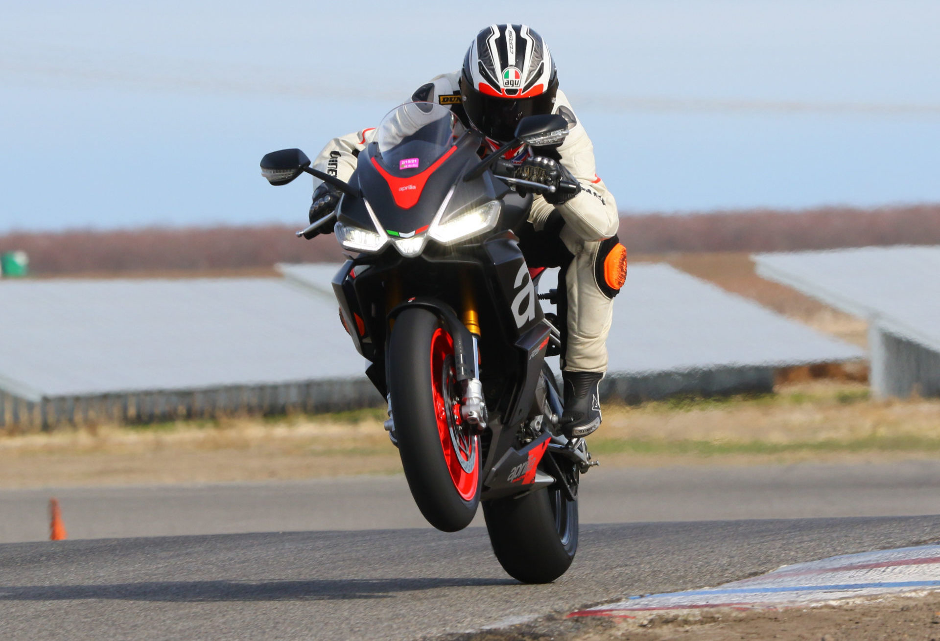 The 2021 Aprilia RS 660 has met the AMA's homologation requirements and is approved to compete in the 2021 MotoAmerica Twins Cup Championship. Photo by CaliPhotography, courtesy MotoAmerica.