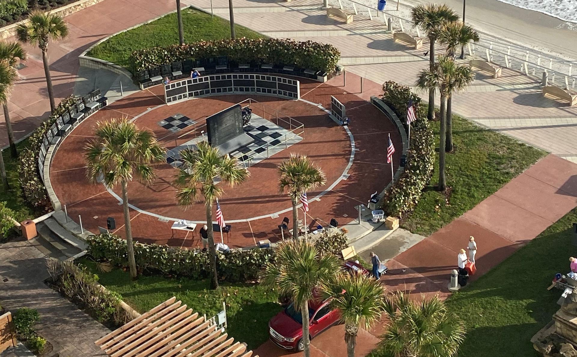 The Daytona 200 Monument in Daytona Beach, Florida. Photo by Michelle A. Lindsay.
