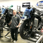 Employees assembling 2021 Buell 1190SX naked sportbikes in Grand Rapids, Michigan. Photo courtesy Buell Motorcycle.