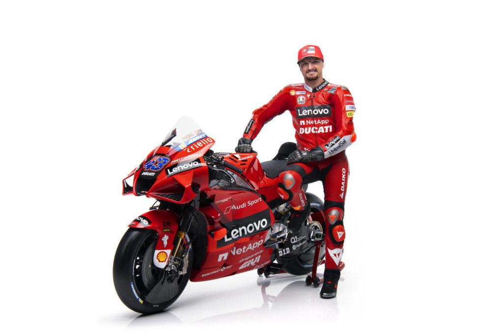 Jack Miller. Photo courtesy Ducati.