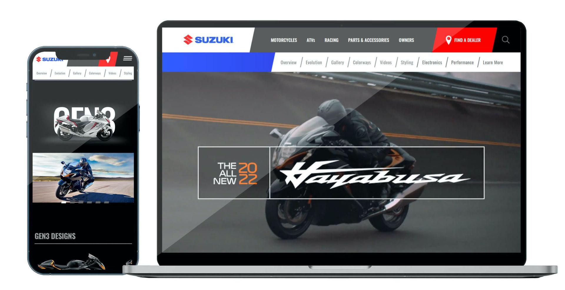 Images courtesy Suzuki Motor of America, Inc.