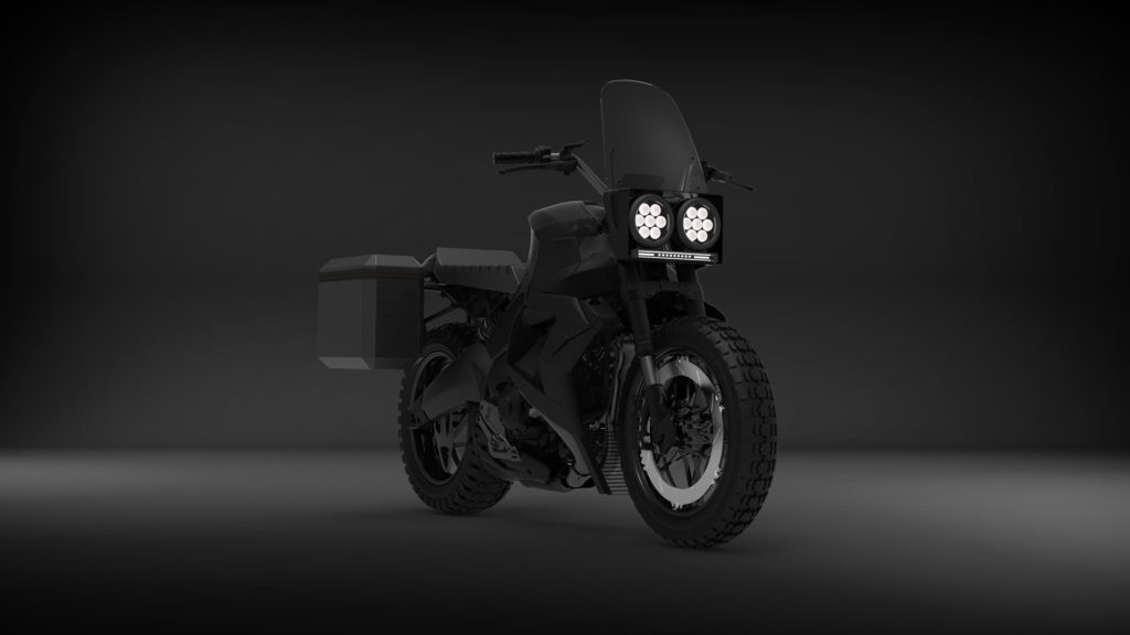 A concept image of Buell's new 1190 Super Touring model. Image courtesy Buell Motorcycle.
