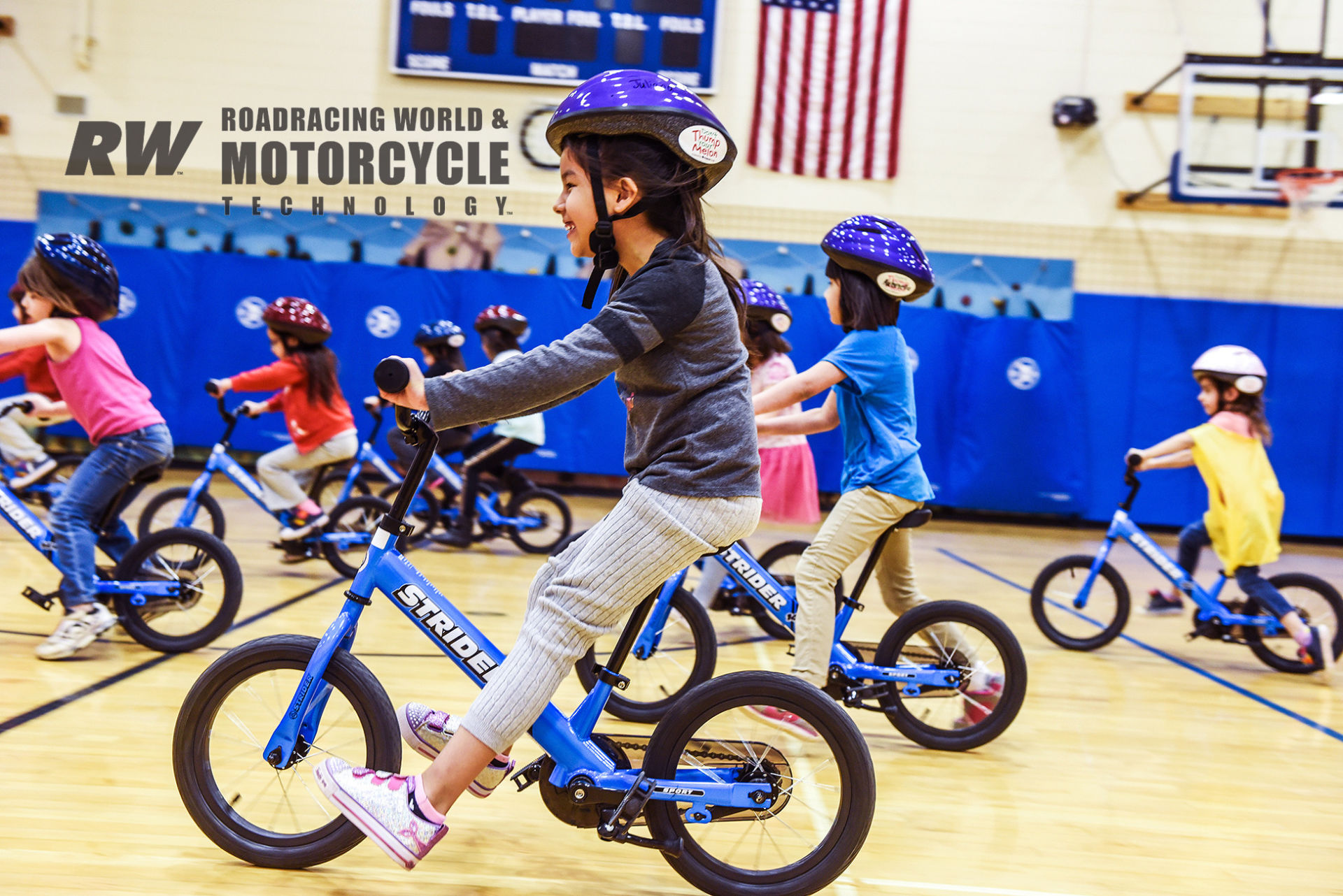 The idea was to reach as many kids as early as possible. Public and non-profit kindergarten turned out to be the point where All Kids Bike could have the greatest impact. Photo courtesy All Kids Bike.