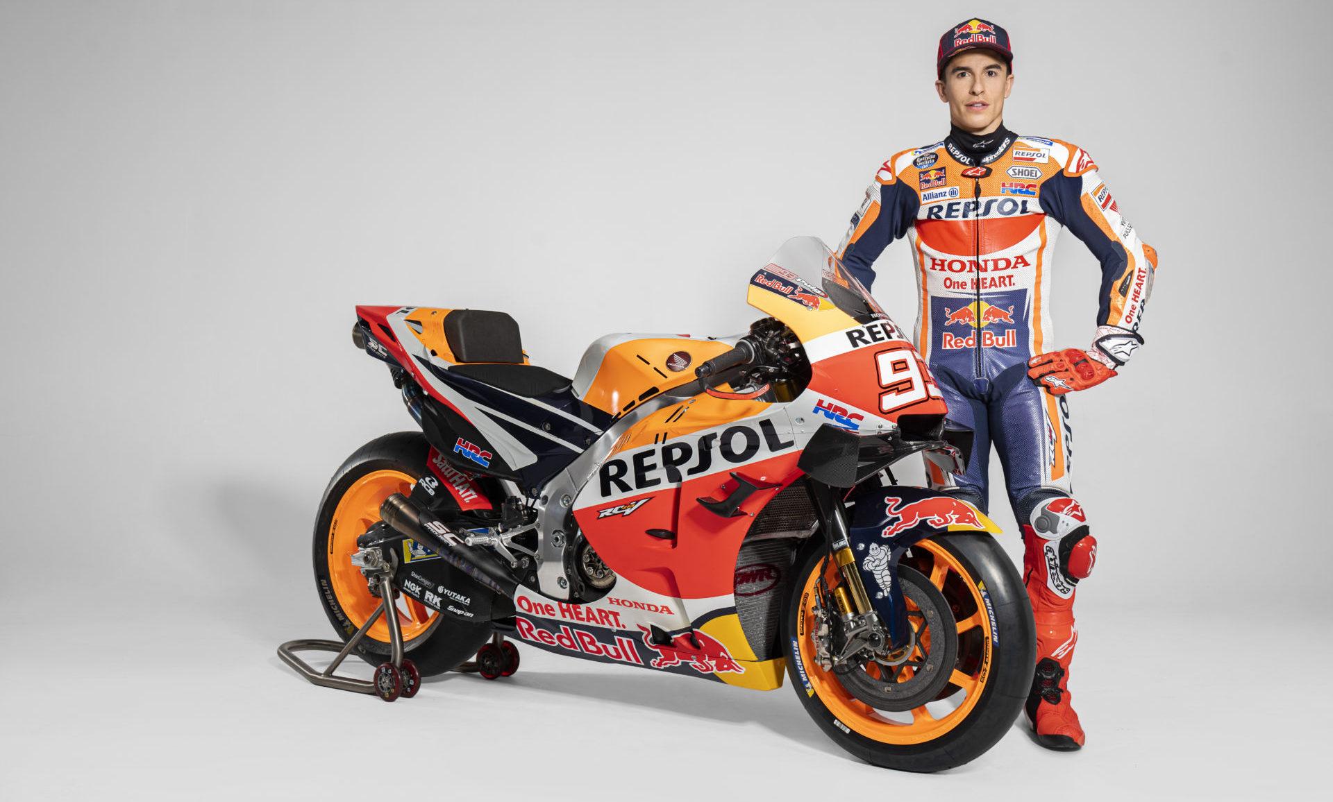 Marc Marquez. Photo courtesy Repsol Honda.