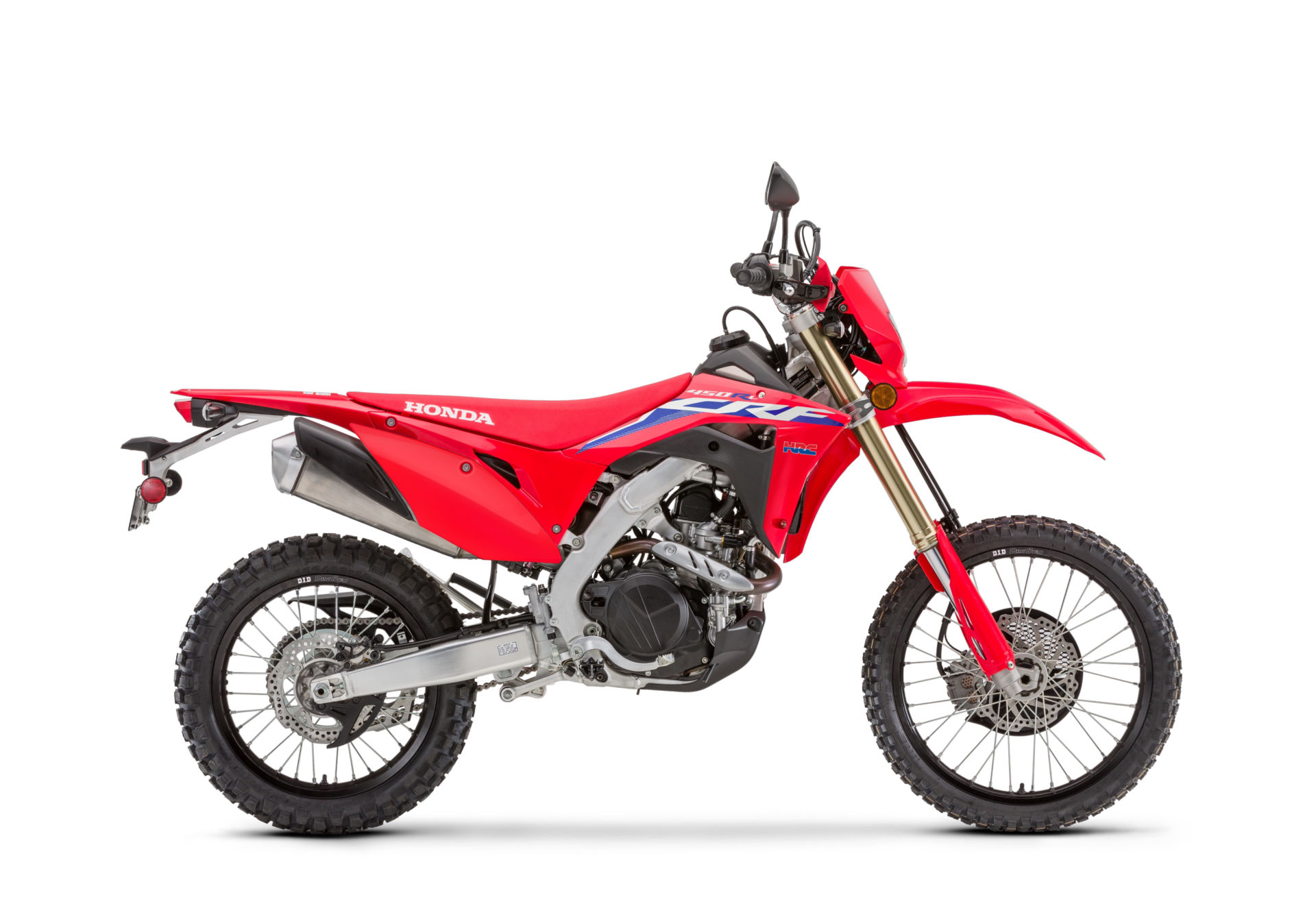 Honda Unveils 2022 CRF450 Motocross And Off-Road Models