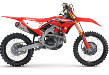 A 2022-model Honda CRF450RWE. Photo courtesy American Honda.