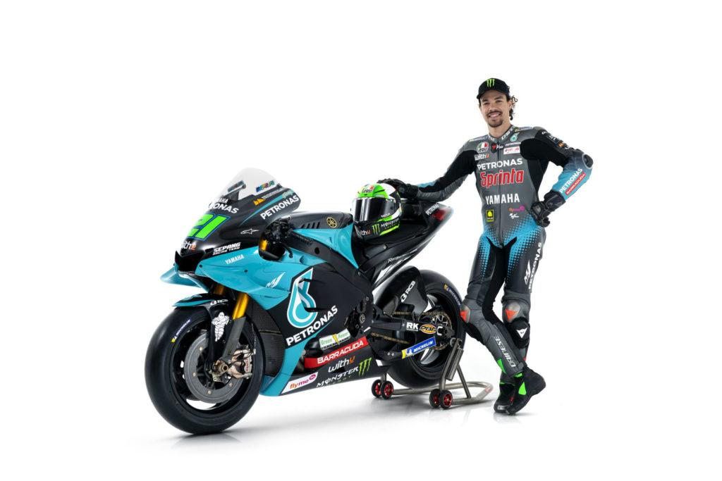Franco Morbidelli. Photo courtesy PETRONAS Yamaha SRT.