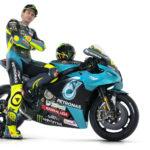 Valentino Rossi and his PETRONAS Yamaha SRT YZR-M1. Photo courtesy PETRONAS Yamaha SRT.