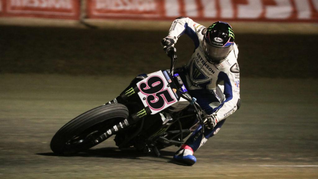 JD Beach (95). Photo courtesy Estenson Racing.