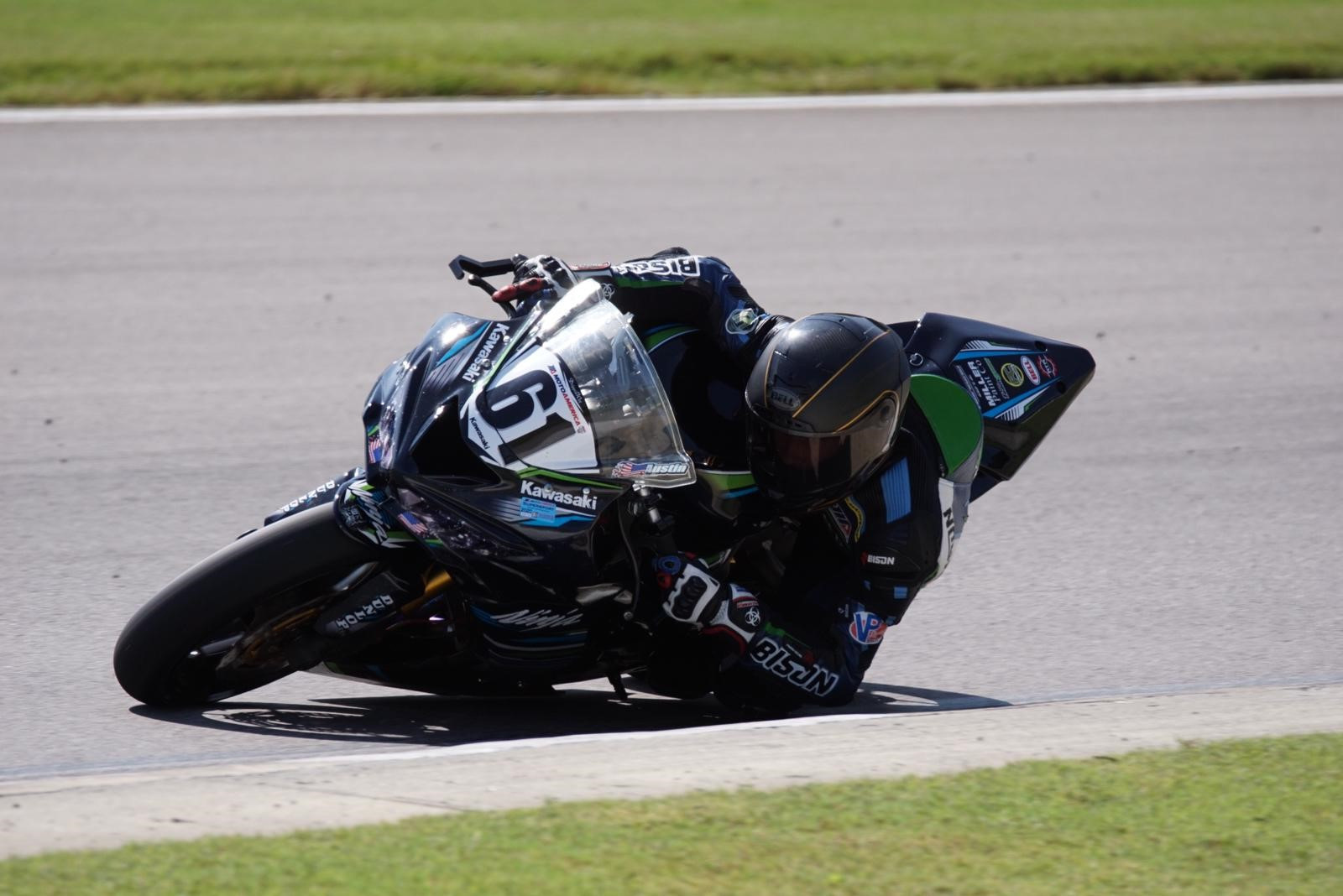 Austin Miller (61). Photo courtesy Pure Attitude Racing.